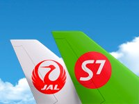 S7 and Japan Airlines launch codeshare flights