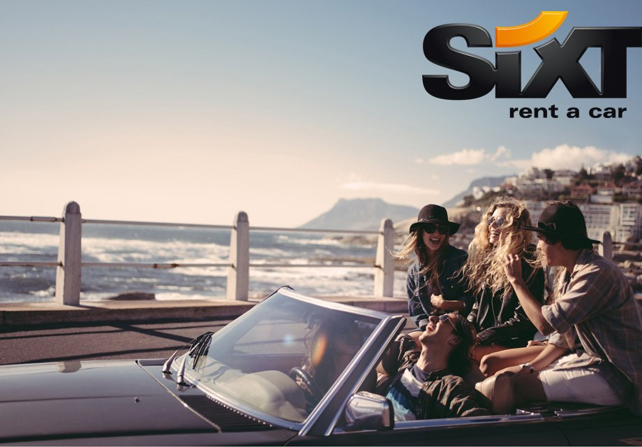 Extra miles for renting a car in the Mediterranean with Sixt