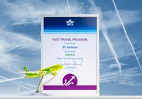 S7Airlines isthefirst airline inRussia to receive theGREEN status oftheIATA Fast Travel Program