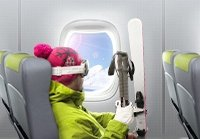 Двойные мили за полеты в Альпы!