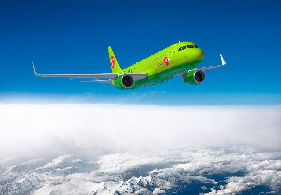 S7 Airlines увеличила перевозки пассажиров на 23,7%