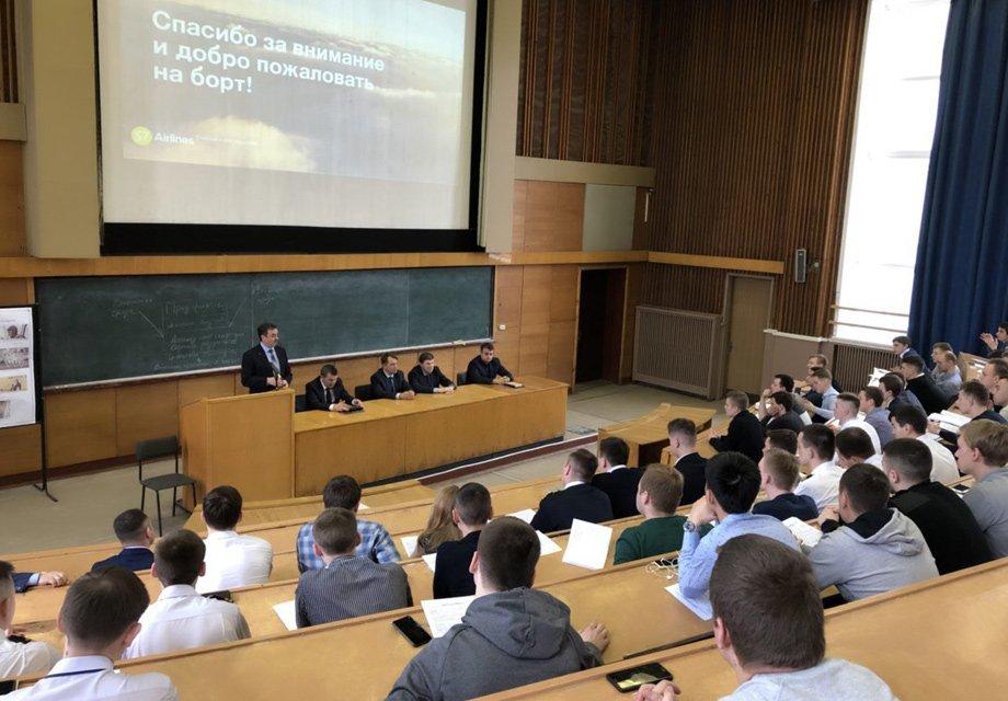 Собеседования со студентами СПбГУ ГА