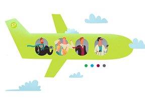 S7 Airlines разработала гибкую систему тарифов