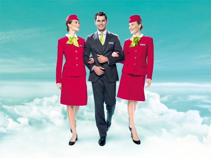 Новый образ бортпроводников S7 Airlines
