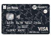 S7Airlines представляет новую премиальную карту S7-Банк Москвы-Visa Signature