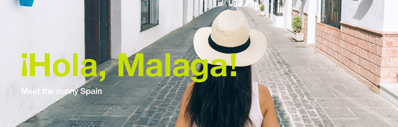 iHola, fly to Malaga!