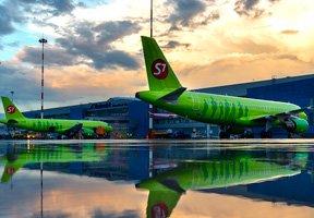 S7Airlines увеличила перевозки пассажиров на 6,6%