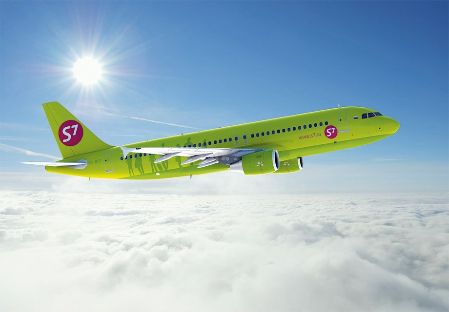 S7 Airlines increased its passenger traffic by 15.2%