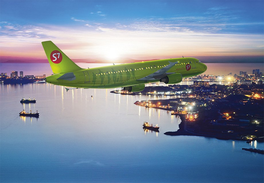 S7 Airlines opens new flights from Vladivostok