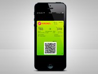 Mobile boarding pass on S7 flights from Yerevan and Tbilisi