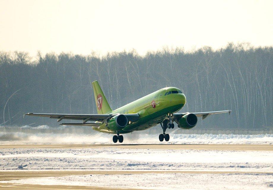 S7Airlines увеличила перевозки пассажиров на7,8%
