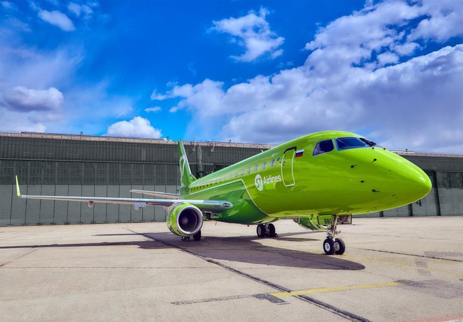 The first Embraer 170-LR joined the S7 Airlines air fleet