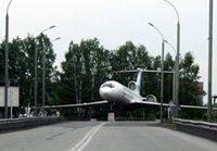 S7Airlines передала самолет Ту-154 в музей истории авиации Толмачёво