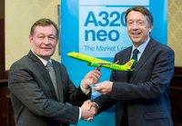 S7 Airlines станет первым в России эксплуатантом самолетов семейства Airbus A320neo