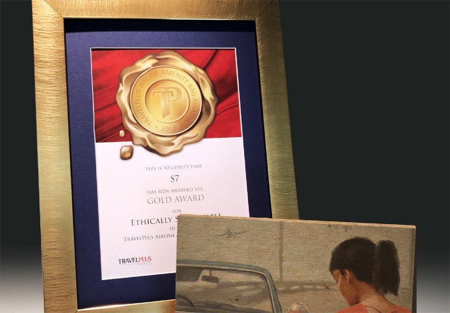 S7Airlines получила награду задорожный набор длябизнес-класса