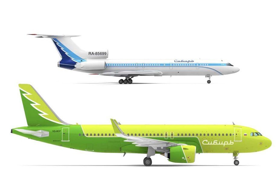 We are Siberia. S7 Airlines returns to its old name to preserve Siberian forests.