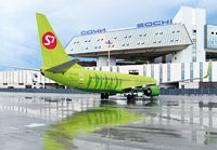 To Sochi with S7 Airlines - seven times a day