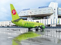To Sochi with S7Airlines - seven times a day