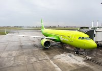 The second Airbus A320neo joins the S7 Airlines air fleet