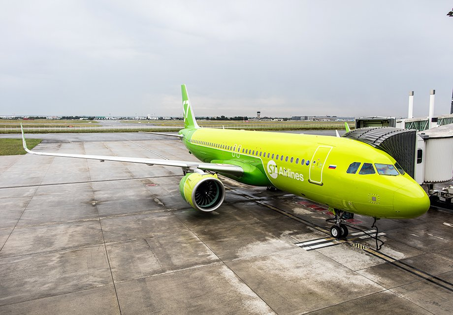 Второй Airbus A320neo впарке S7Airlines