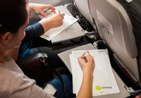 Totalniy dictant (Total dictation) was held onboard the S7 Airlines flight