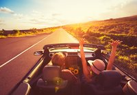 Summer in a convertible from Sixt