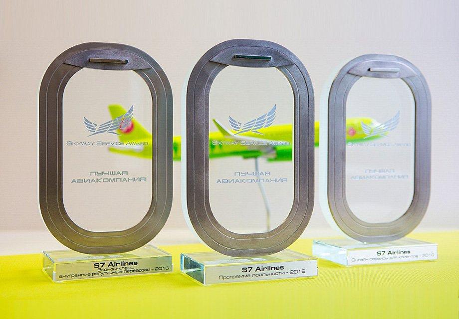 S7 Airlines стала обладателем премии Skyway Service Award