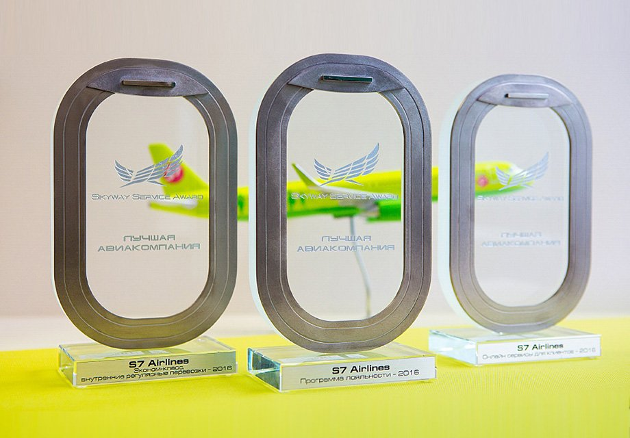 S7 Airlines стала обладателем премии Skyway Service Award