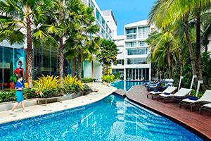 Отель Hotel Baraquda Pattaya